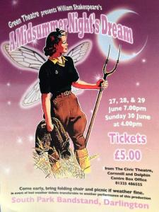 Midsummer Night's Dream Flyer