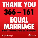 stonewall equal marriage
