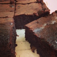 Chocolate and Ginger Brownies