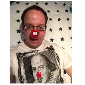 My Comic Relief selfie 2015