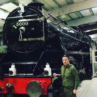 Me and a train